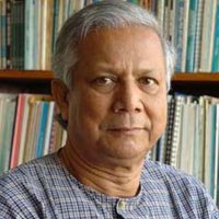 Professor Muhammad Yunus – Nobel peace prize winner