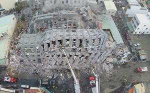 destroy of earthquake