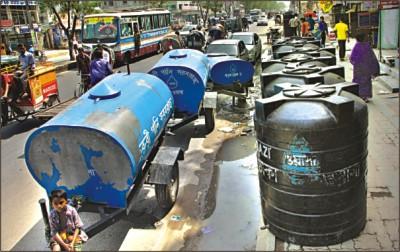 water supply in Dhaka