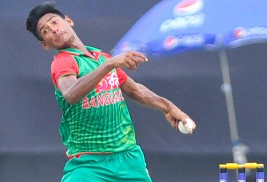 Mustafizur Rahman Bowling action