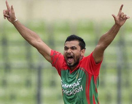 Mashrafe bin murtaza captain of Bangladesh
