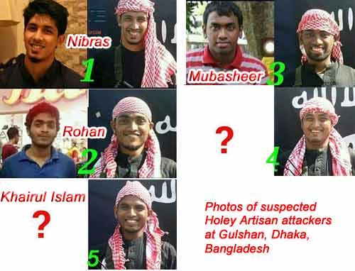 Dhaka Cafe Attacker