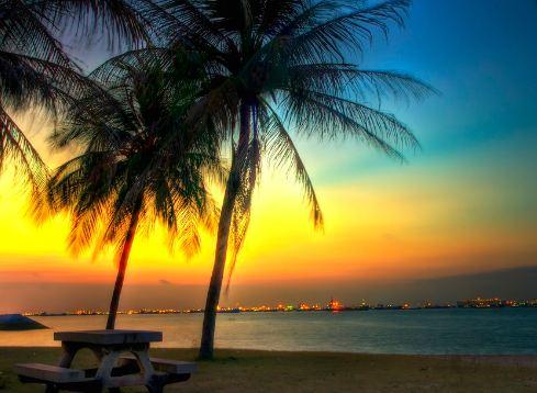 East Coast Park,visit in Singapore.